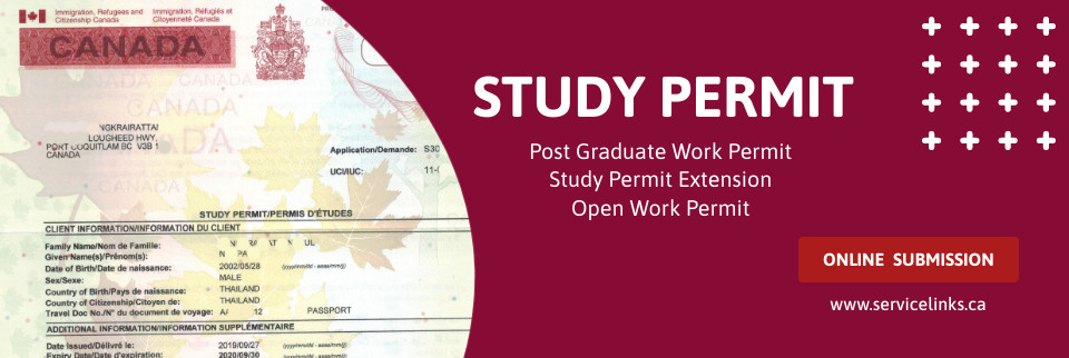 Study Permit - Next Intake Jan 2021